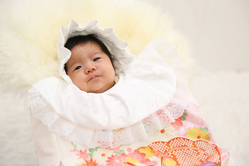 1か月女の子【お宮参り】