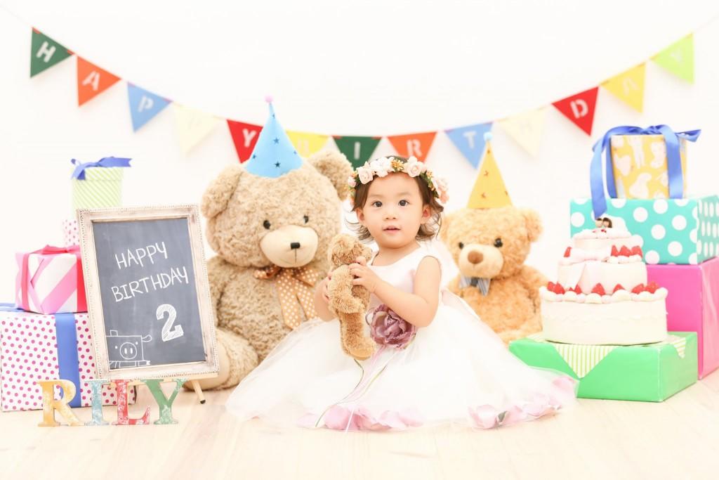 【バースデイ・マタニティ】2歳女の子