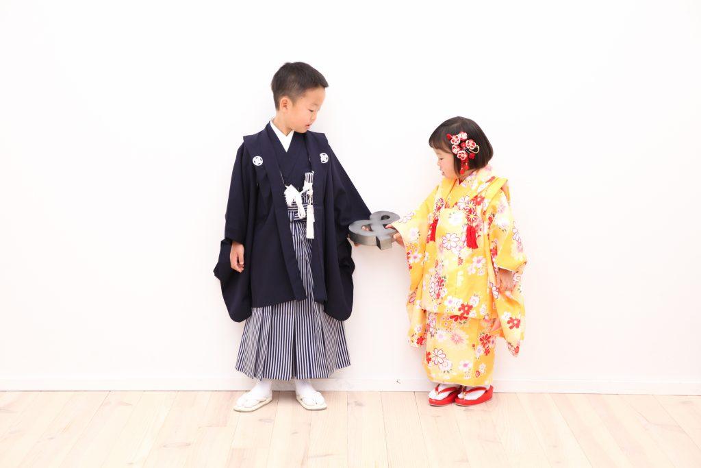 【753】5歳3歳兄妹
