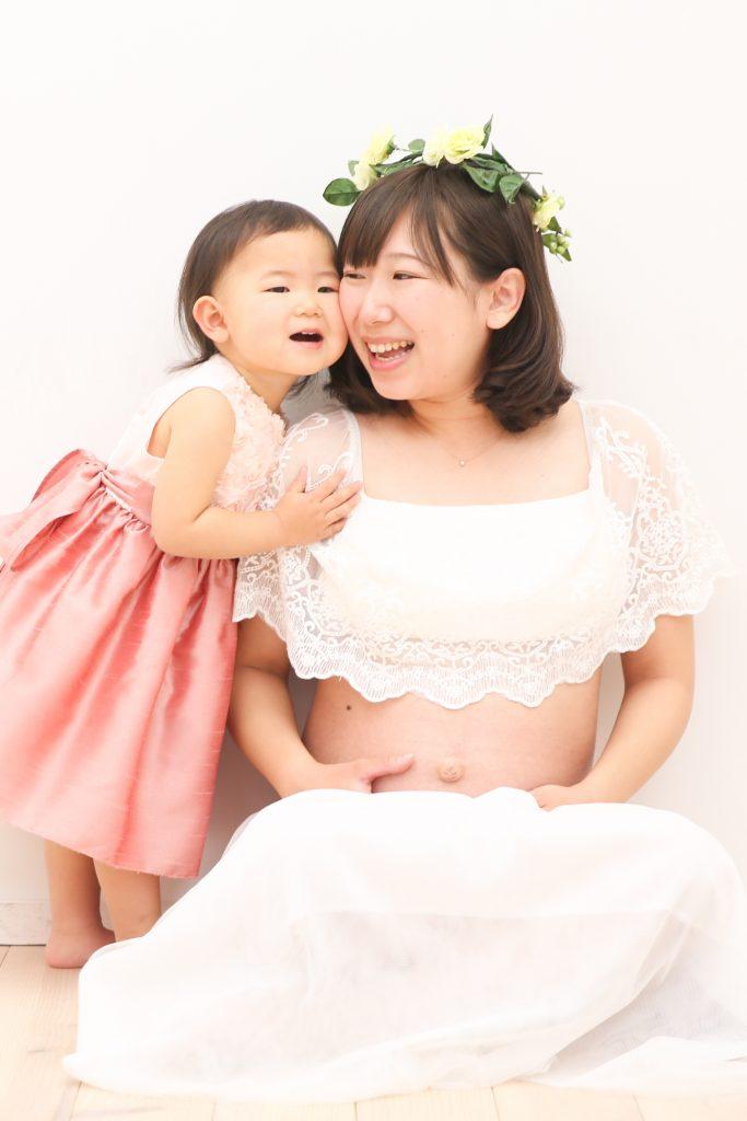 【マタニティ】【バースデイ】ママと2歳の女の子