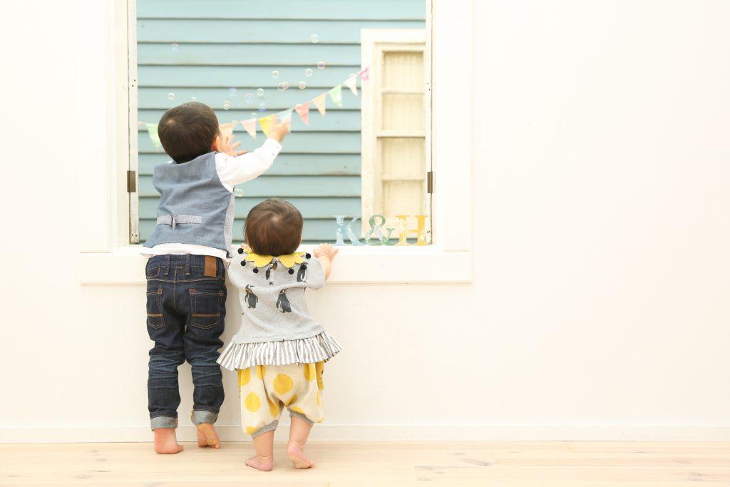 【バースデイ】1歳3歳、女の子男の子
