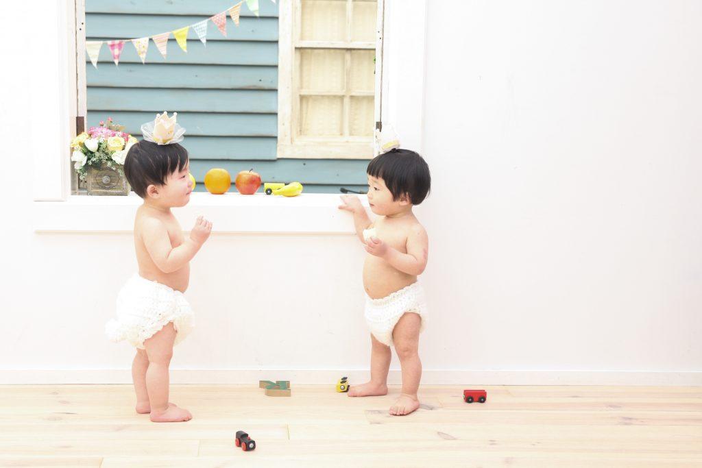 【バースデイ】1歳双子男の子