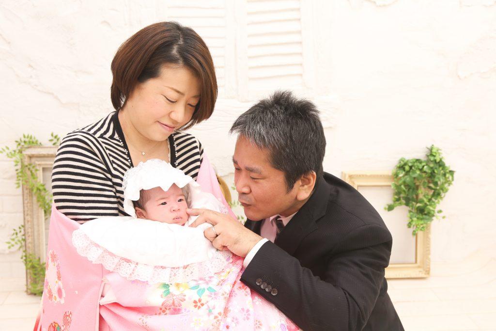 【お宮参り】生後1ヶ月女の子