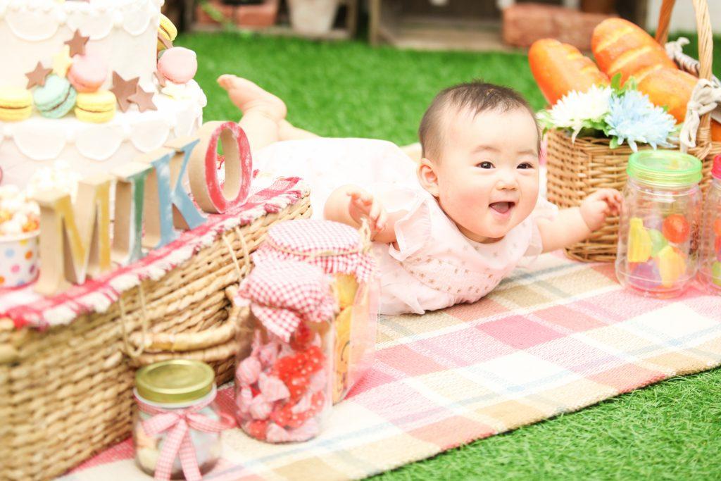 【ハーフバースデイ】6ヶ月女の子