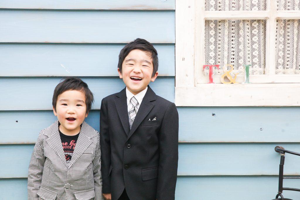 【753】3歳と6歳男の子