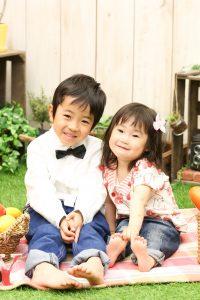 【入学】6歳男の子と2歳女の子