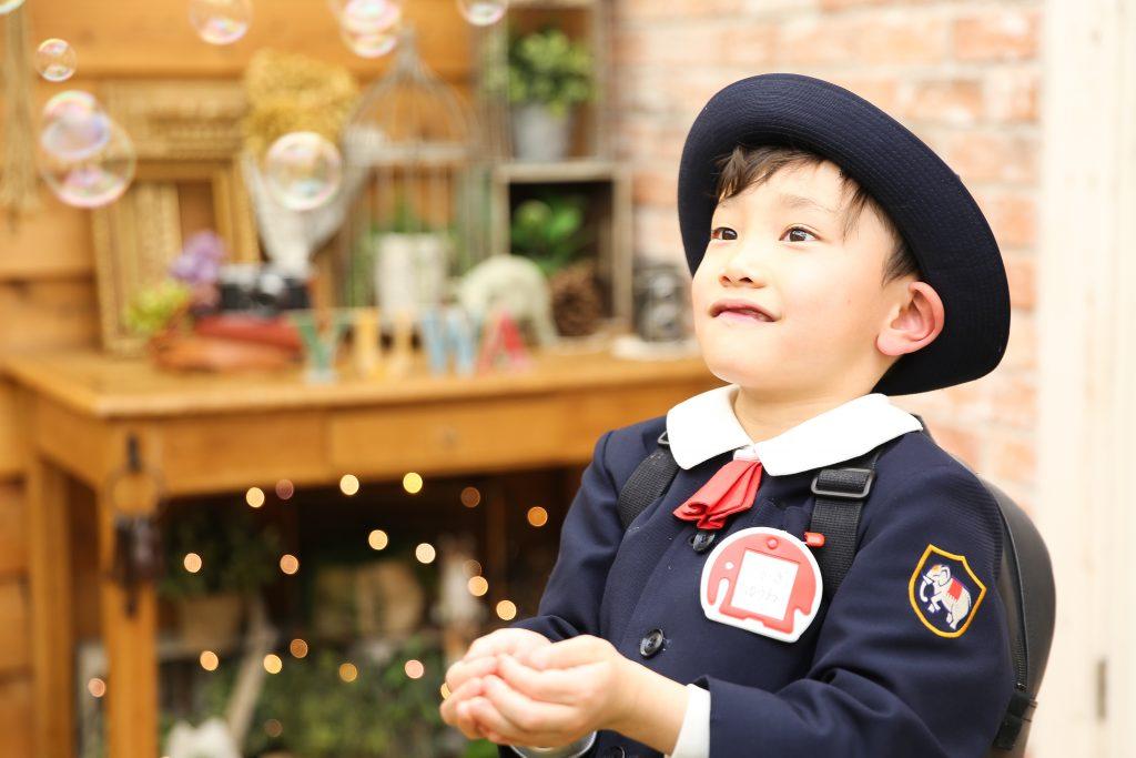 【入学・バースデイ】6歳、1歳男の子