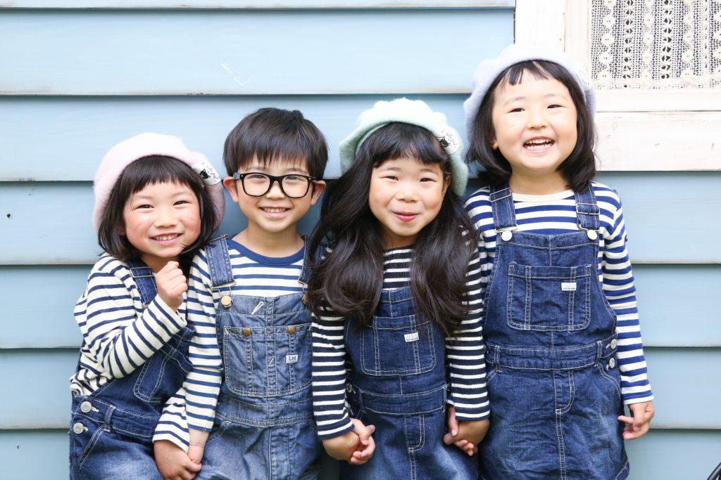 【バースデイ・お友達撮影】5歳男の子、女の子