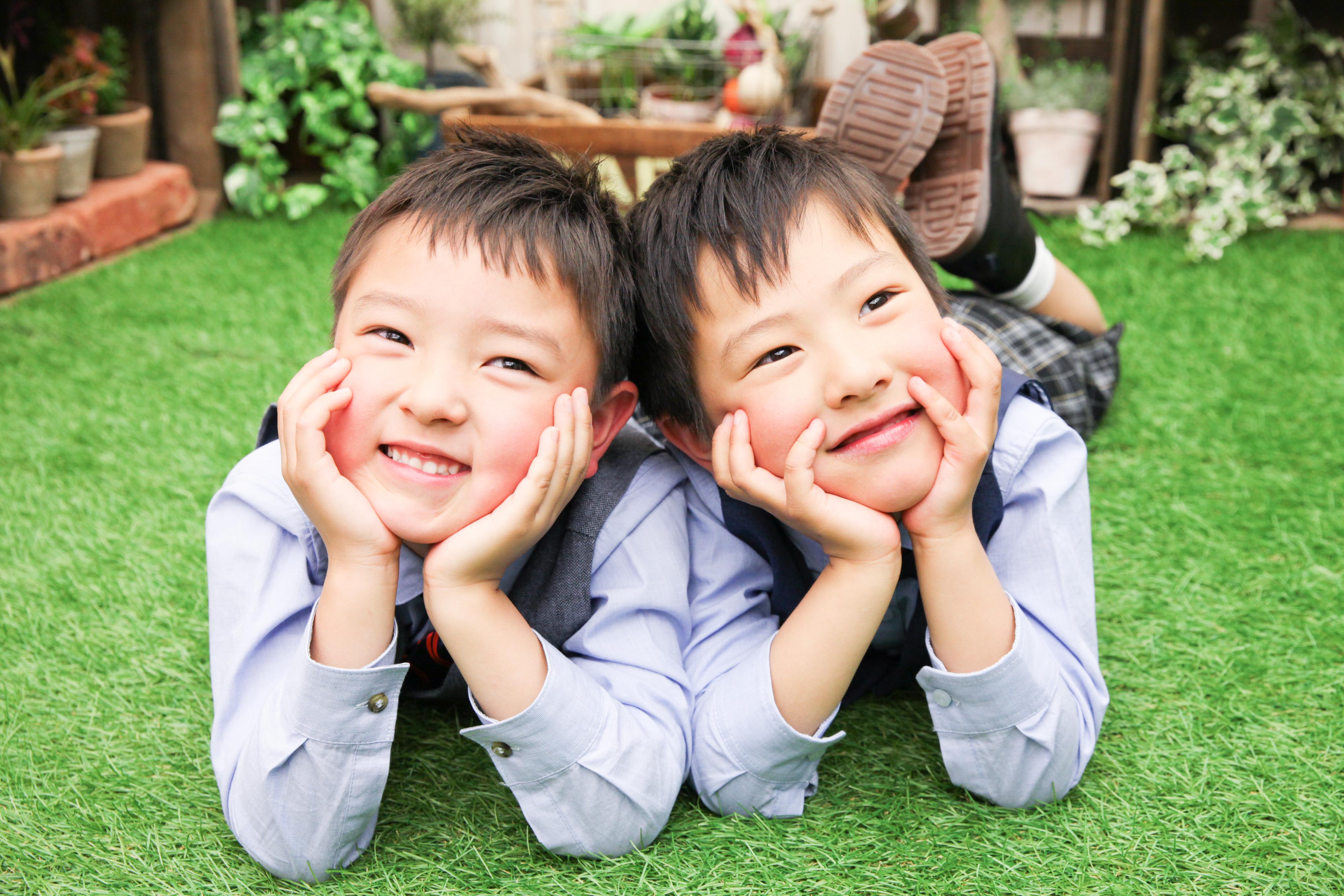 【入学】6歳双子の男の子