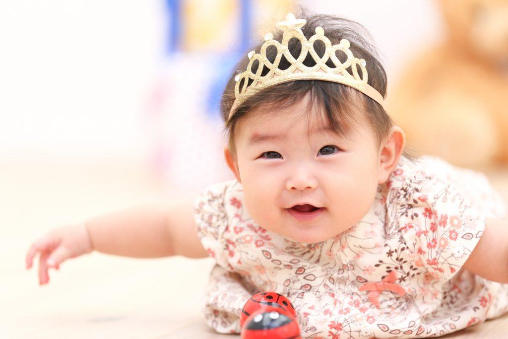 【ハーフバースデイ・入園入学】6か月女の子・4歳女の子・6歳男の子
