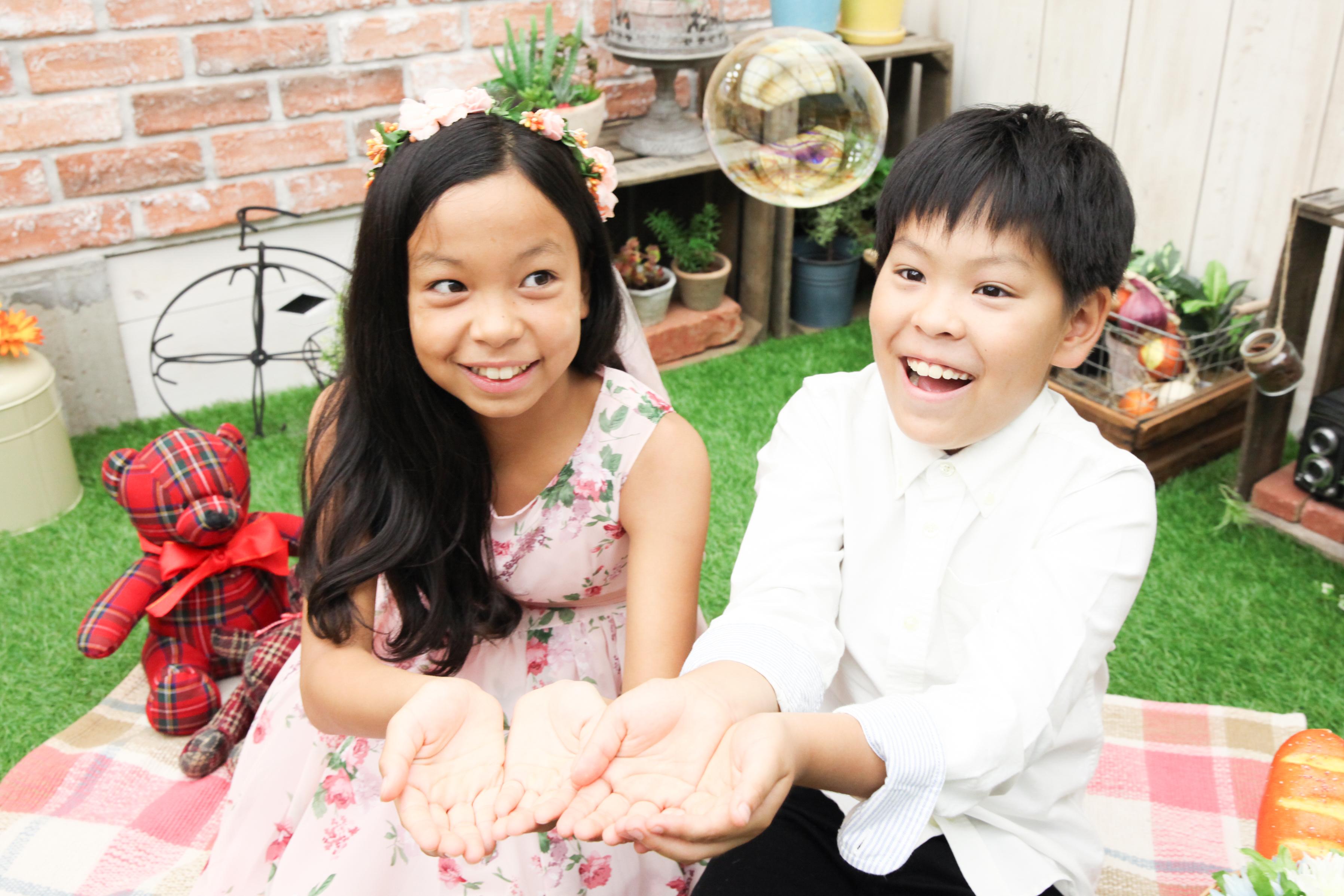 【1/2成人式】10歳双子の男の子と女の子