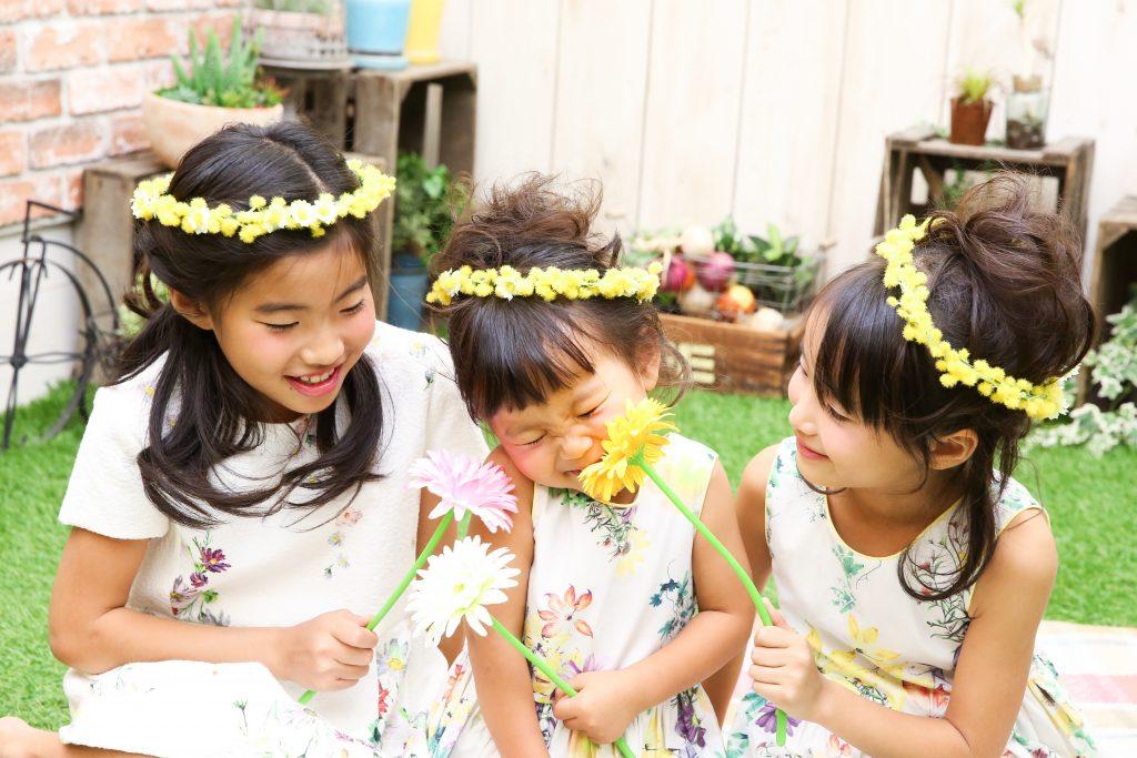 【753】3歳と6歳女の子