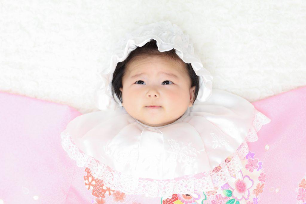 【お宮参り・100日記念】4か月女の子