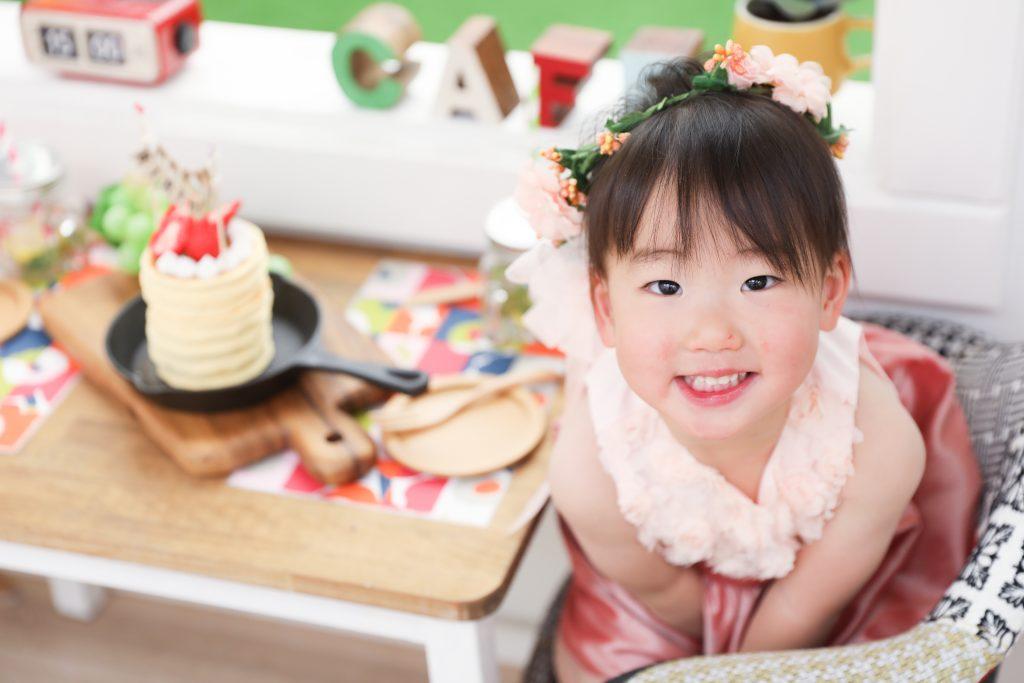 【バースデイ】2歳の女の子