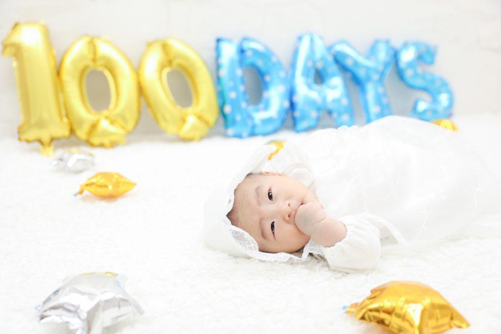 【お宮参り・100日記念】3か月男の子