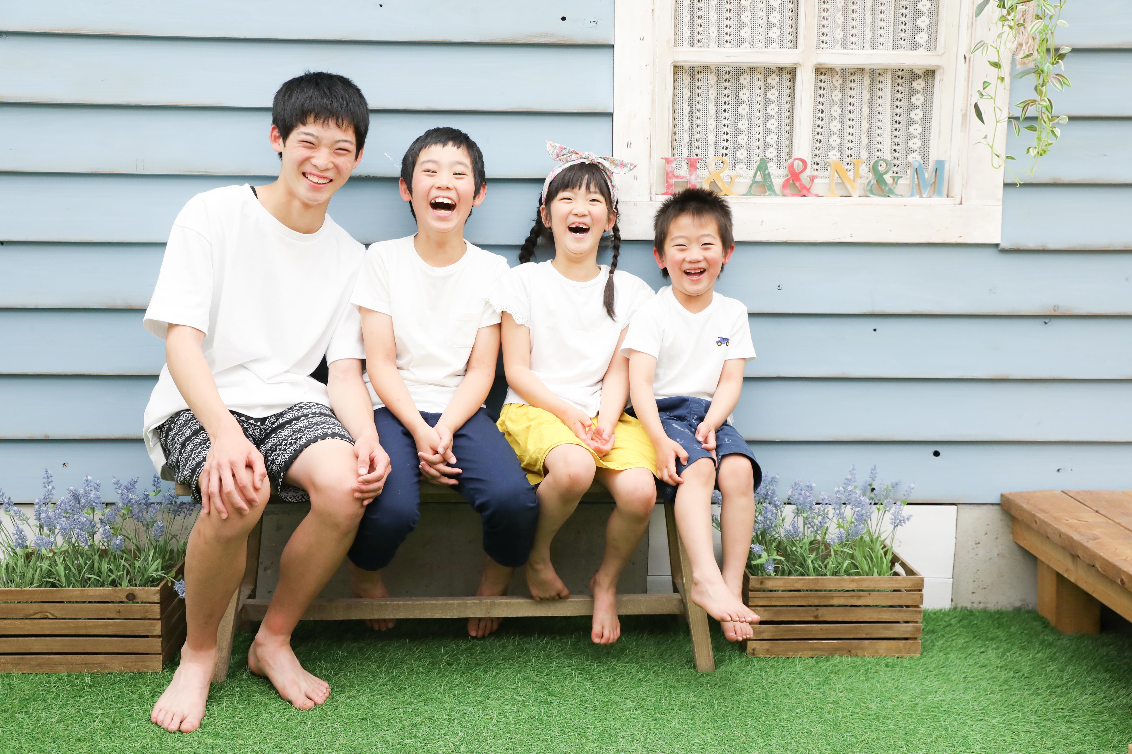 【753】6歳女の子と4歳男の子