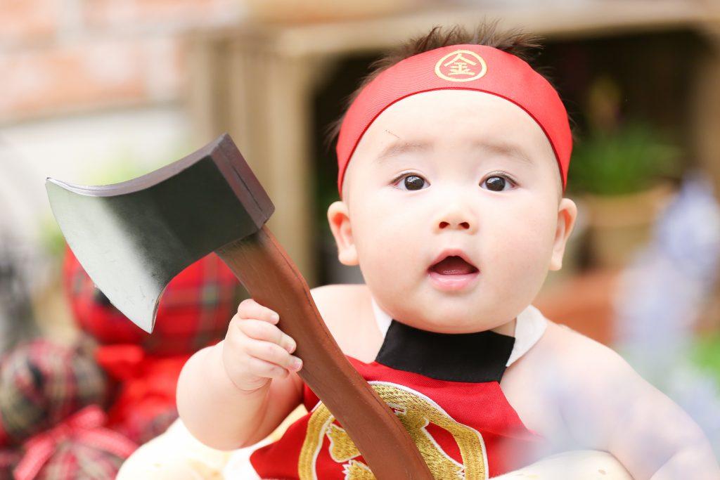 【ハーフバースデイ】6か月男の子