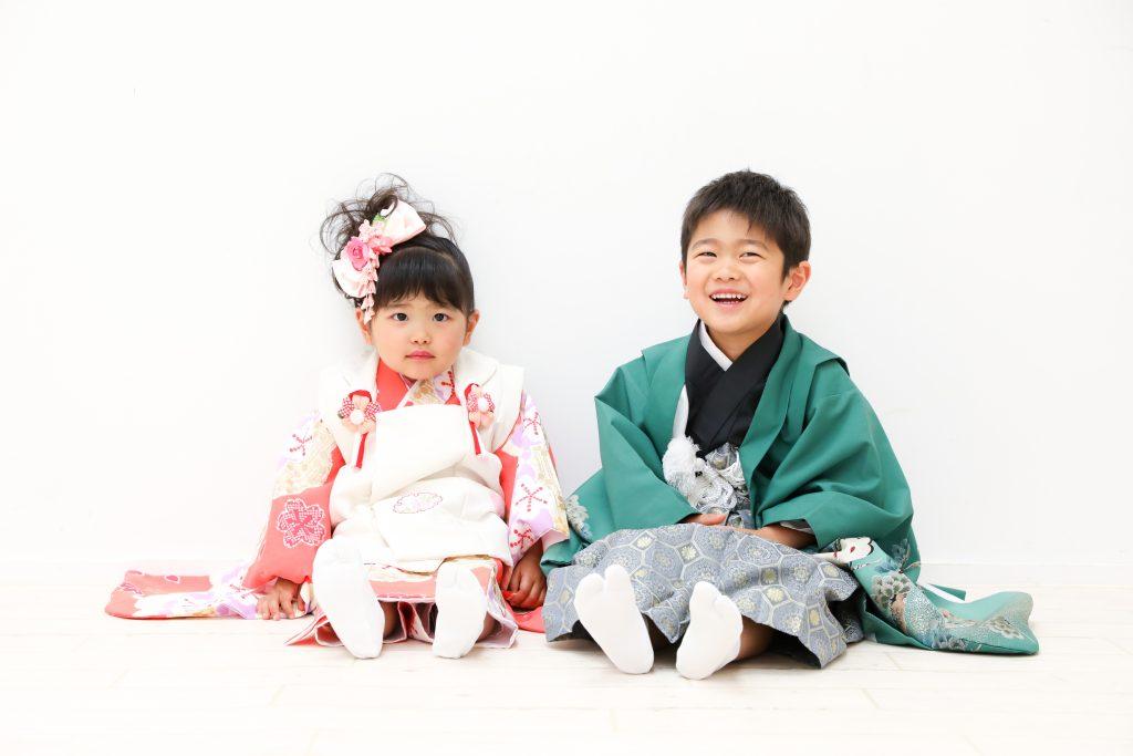 【753】5歳3歳の兄妹
