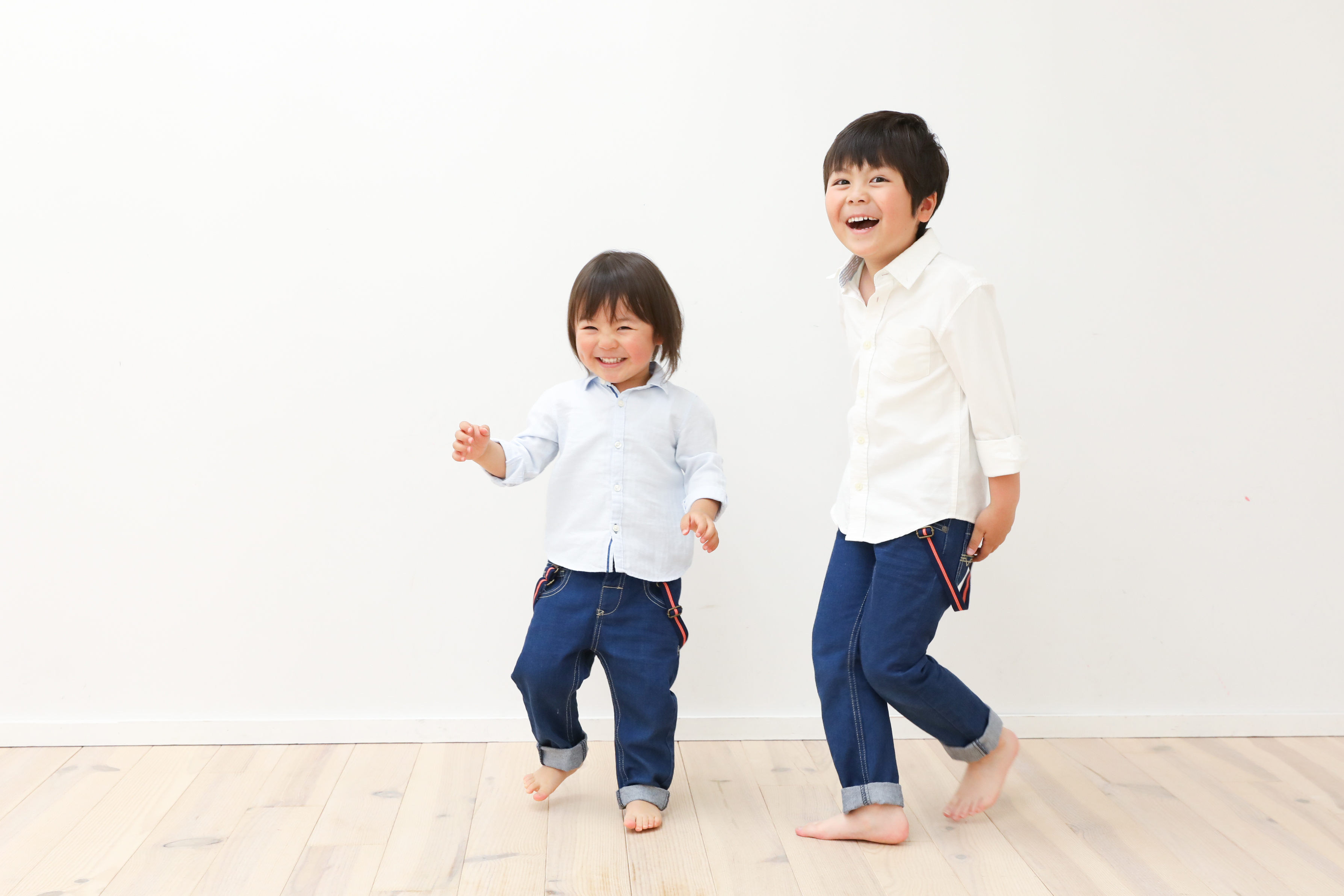 【バースデイ・入学】3歳6歳の兄妹