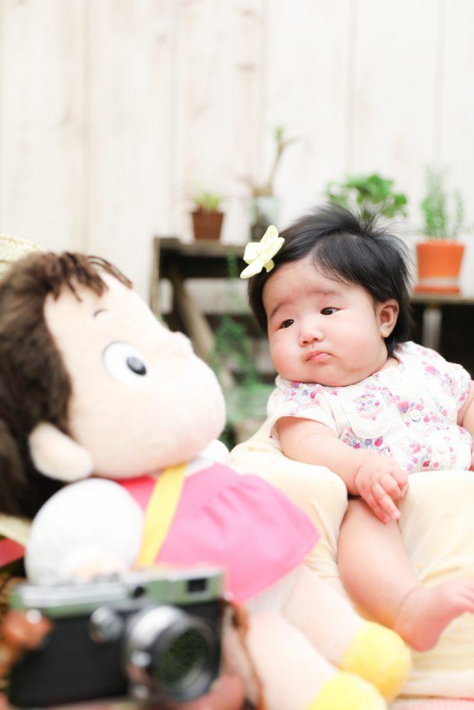 【お宮参り】4か月女の子