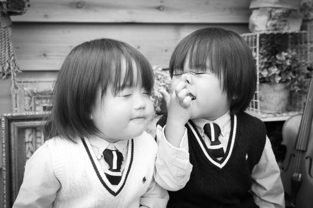 【入園・バースデイ】2歳と3歳男の子