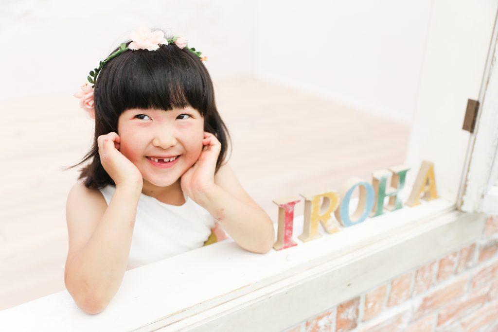 【撮影練習】7歳女の子
