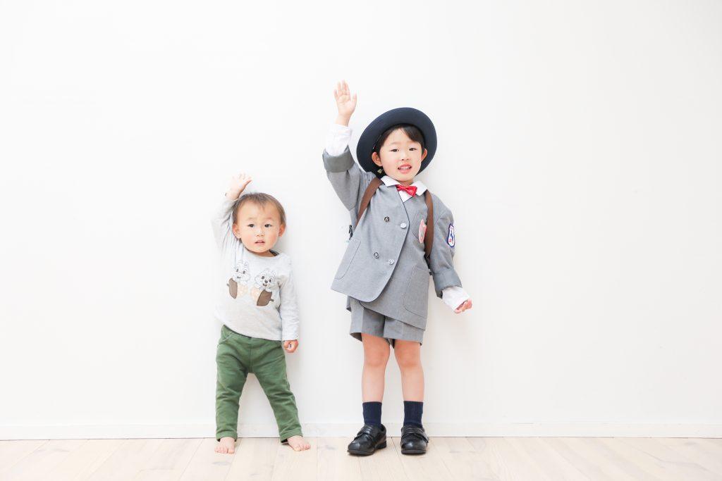 【入園 誕生日】5歳・3歳の兄弟