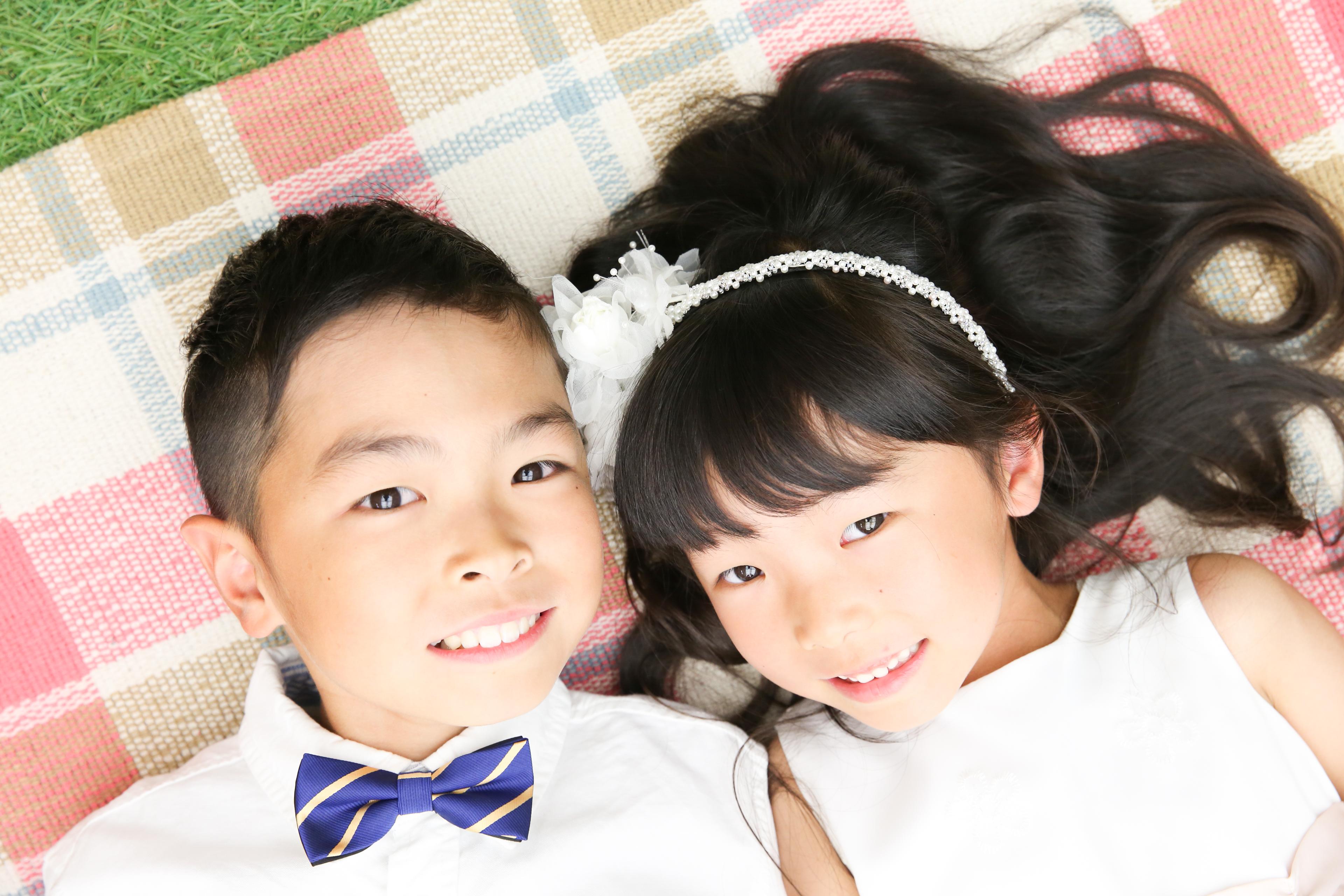 【七五三】6歳・10歳の兄妹