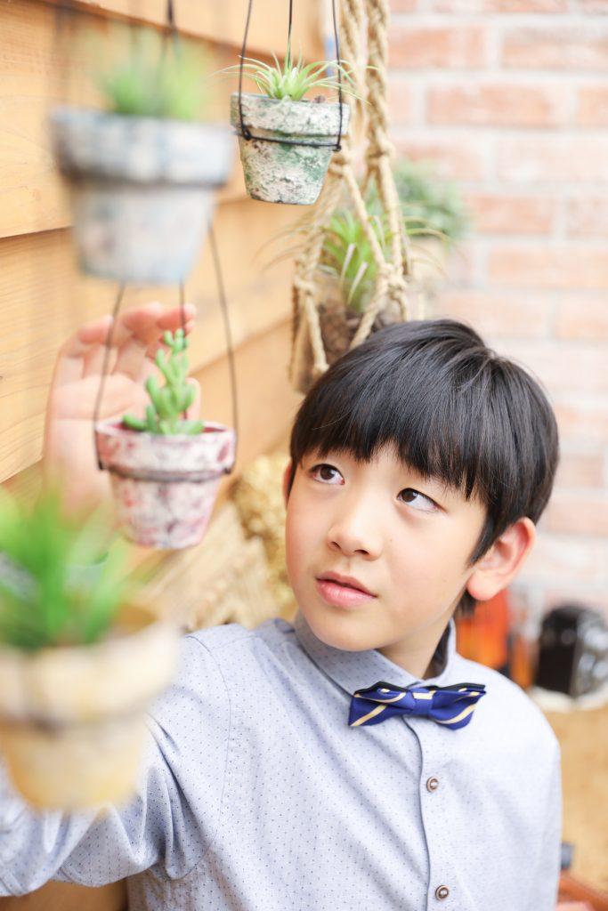 【ハーフ成人式】10歳の男の子