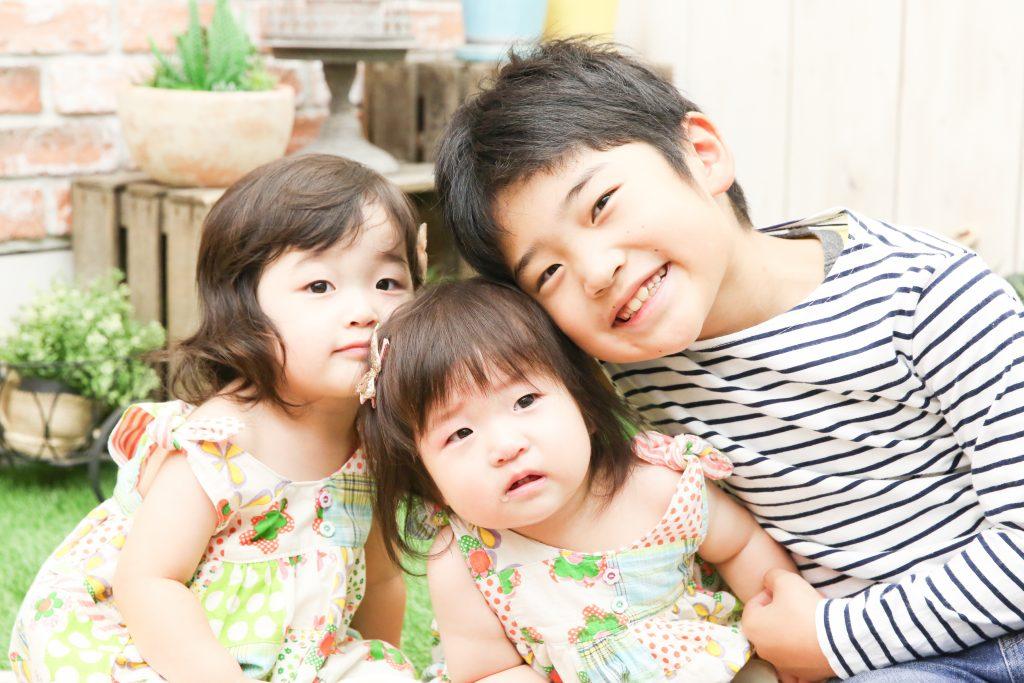 【バースデイ】8歳・2歳・1歳の兄妹