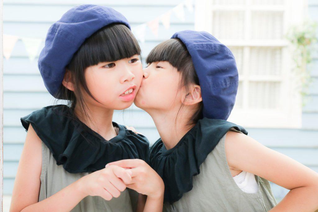 【バースデイ・ハーフ成人式】9歳・8歳の女の子