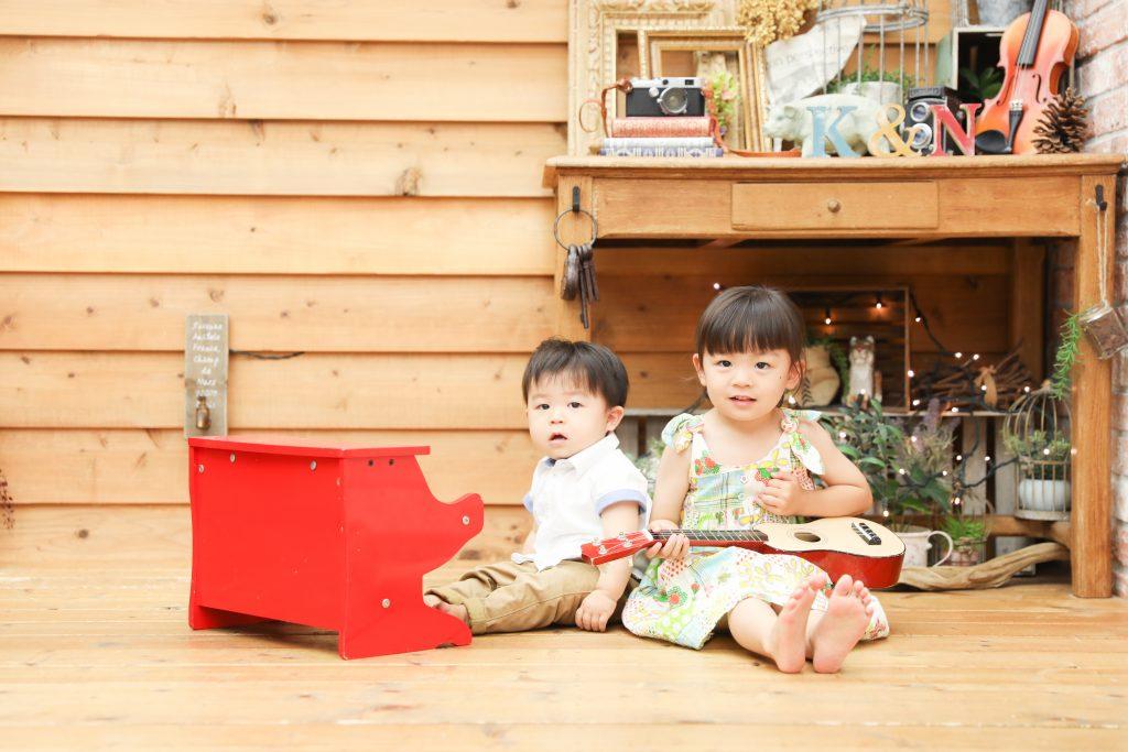 【バースデイ】3歳・1歳の姉弟