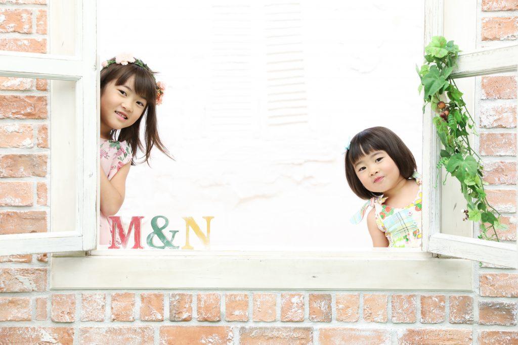 【バースデイ】3歳と6歳の姉妹