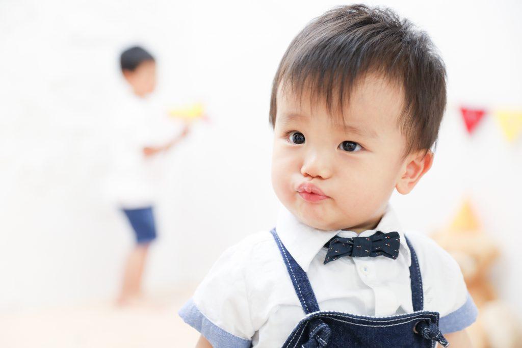 【バースデー】4歳・1歳の兄弟