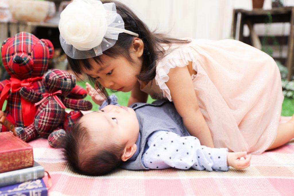 【100日記念】0歳・2歳の姉弟