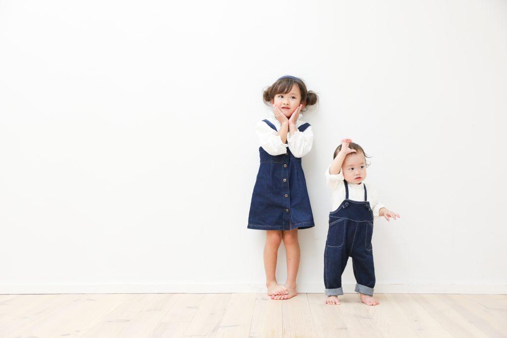 【バースデイ】1歳男の子、5歳女の子