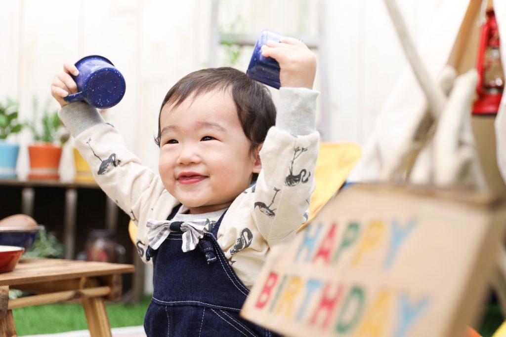 【ハーフバースデー】0歳男の子!