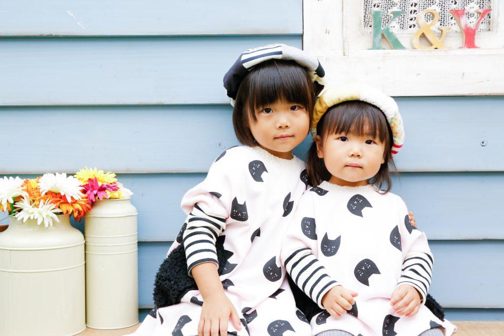 【バースデイ】4歳・2歳の姉妹