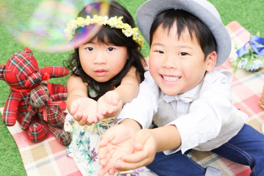 【753】5歳男の子と3歳女の子