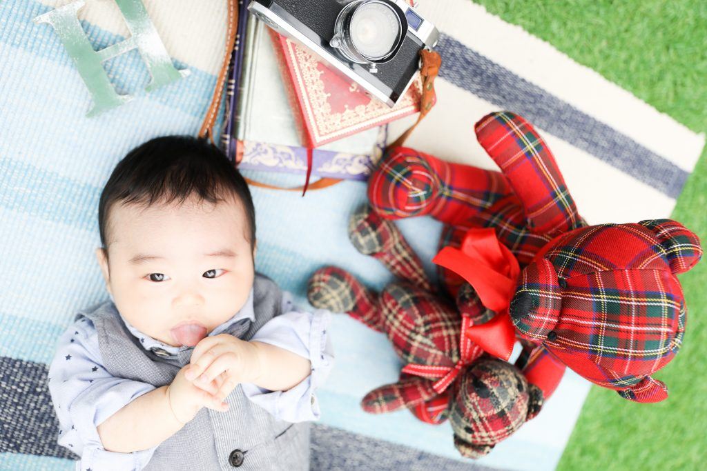 【お宮参り】2か月の男の子