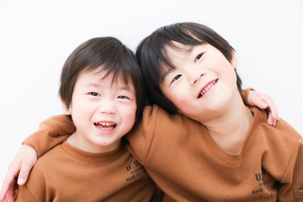 【バースデイ】7歳・4歳の兄弟