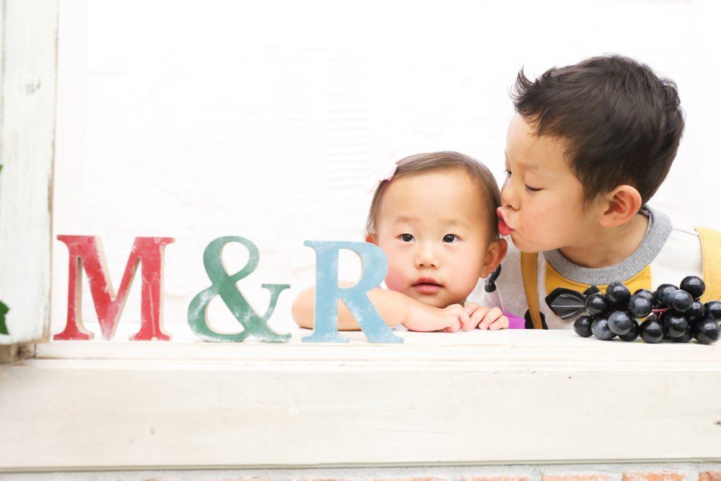 【バースデー】3歳男の子 1歳女の子