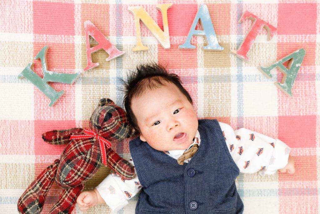 【お宮参り】1か月男の子