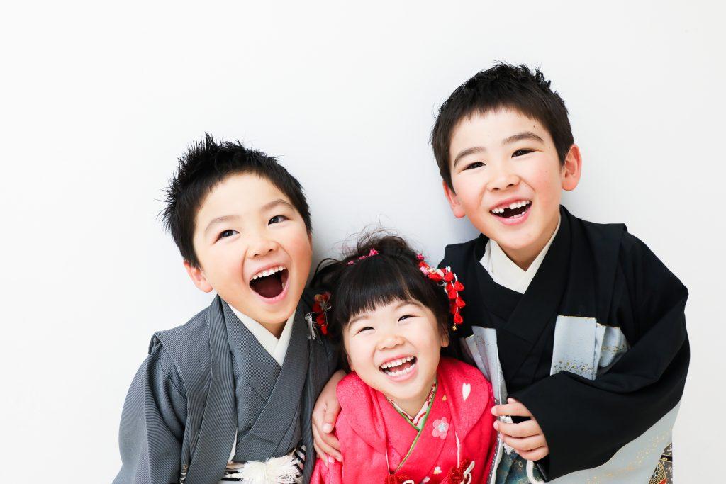 【753】7歳・5歳・3歳の兄妹