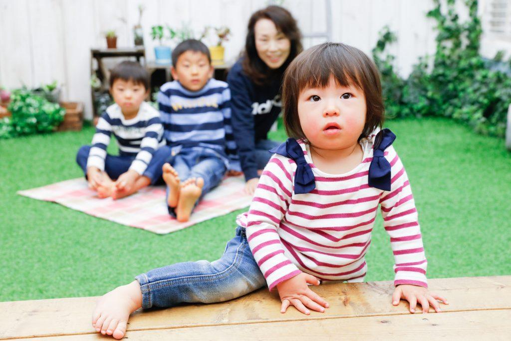 【バースデー】6歳・3歳・1歳の兄妹