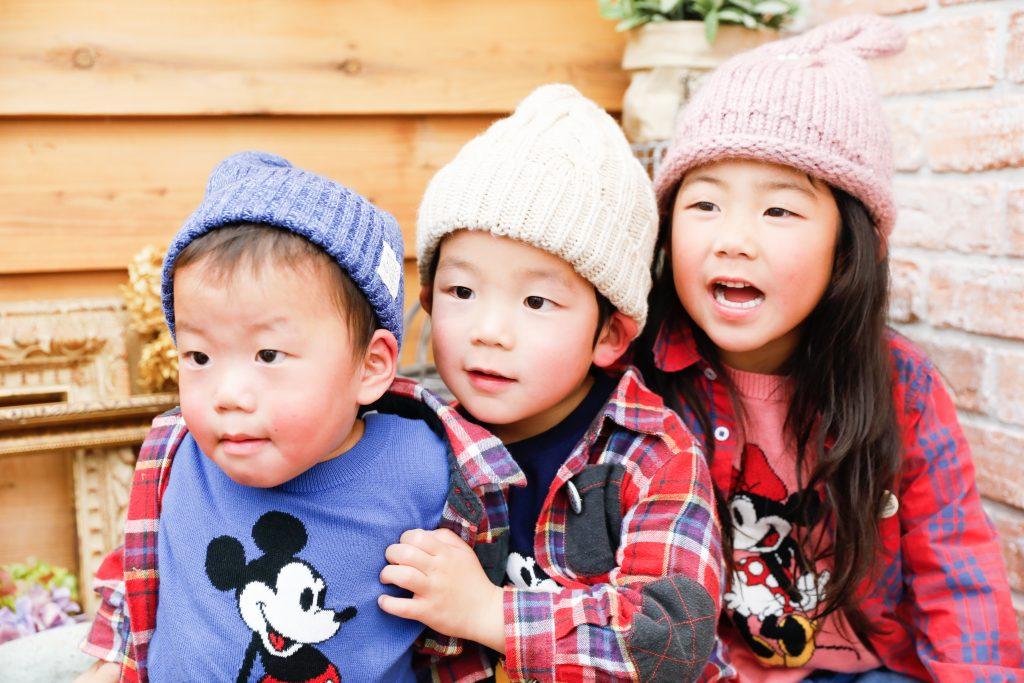 【753】6歳・4歳・1歳の姉弟