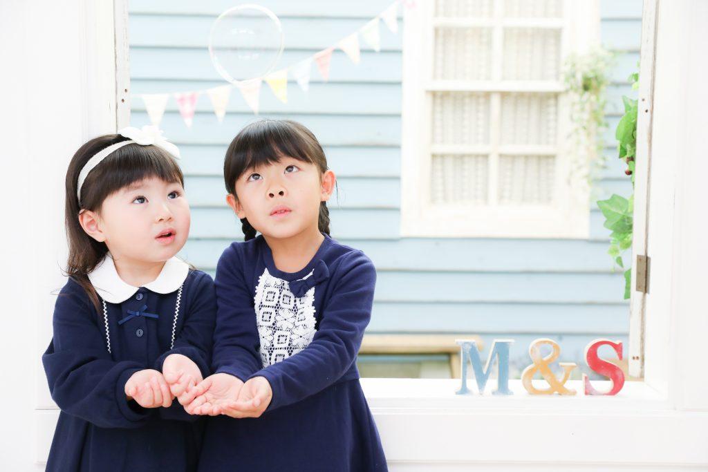 【753・入学】3歳・5歳の姉妹