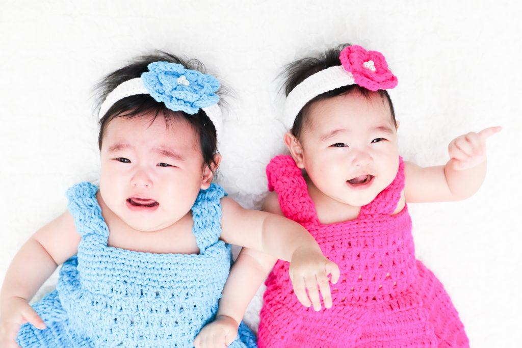 【ハーフバースデイ】0歳の双子