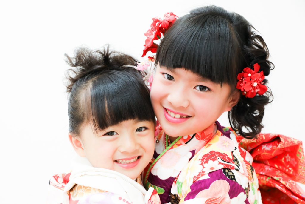 【753】7歳・3歳の姉妹