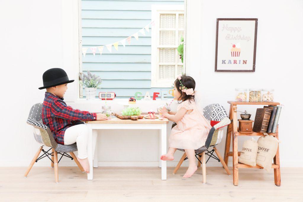 【バースデイ】3歳・2歳の兄妹